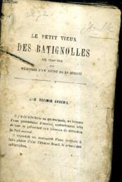 Le Petit Vieux Des Batignolles. - Couverture - Format classique