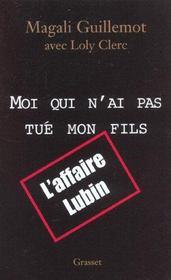 Moi Qui N'Est Pas Tue Mon Fils - Intérieur - Format classique