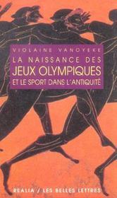 Naissance des jeux olympiques - Intérieur - Format classique