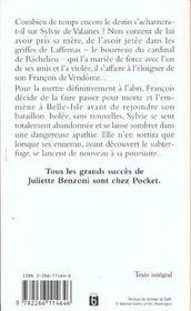 Secret d'etat - tome 2 le roi des halles - vol02 - 4ème de couverture - Format classique