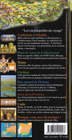 Andalousie - Seville (Cordoue, Cadix, Grenade, Malaga, Almeria) - 4ème de couverture - Format classique
