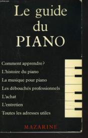 Guide Du Piano - Couverture - Format classique
