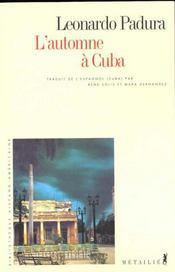 L'automne à Cuba - Intérieur - Format classique