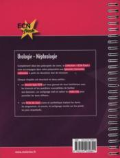 Urologie; néphrologie - 4ème de couverture - Format classique