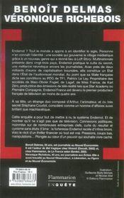 L'histoire secrète d'Endemol - 4ème de couverture - Format classique