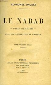 Le Nabab, Moeurs Parisiennes - Couverture - Format classique