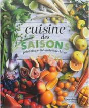 Cuisine des 4 saisons - Couverture - Format classique