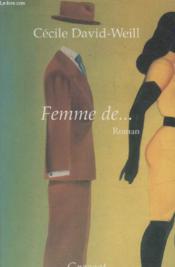 Femme de - Couverture - Format classique