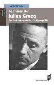 Lectures de julien gracq - Intérieur - Format classique