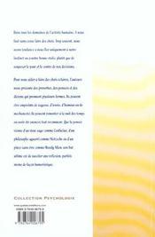 Reflechir Avant D'Agir - 4ème de couverture - Format classique