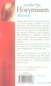 Mmmm - 4ème de couverture - Format classique