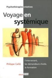 Voyage en systémique - Couverture - Format classique