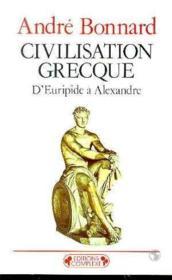 Civilisation grecque tome 3 - Couverture - Format classique