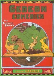 Gédéon comédien - Intérieur - Format classique