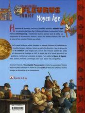 Moyen age - 4ème de couverture - Format classique