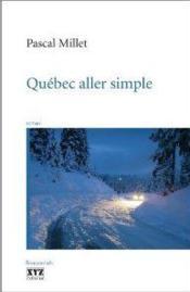 Quebec aller simple - Couverture - Format classique