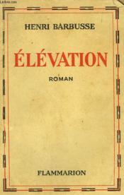 Elevation. - Couverture - Format classique
