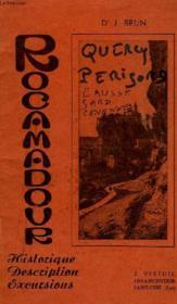 Rocamadour, Historique, Description, Excursions - Couverture - Format classique