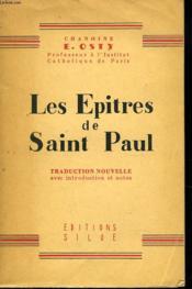 Les Epitres De Saint Paul - Couverture - Format classique