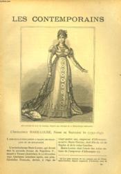 LES CONTEMPORAINS N°571. L'IMPERATRICE MARIE LOUISE, FEMME DE NAPOLEON Ier (1791-1847). - Couverture - Format classique