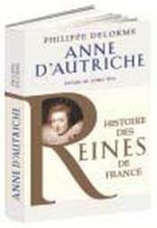 Anne d'Autriche - Couverture - Format classique