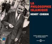 La philosophie islamique par Henry Corbin - Couverture - Format classique