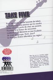 Take five t.1 - 4ème de couverture - Format classique