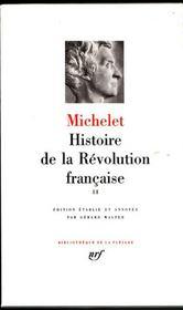 Histoire de la revolution francaise - 1792-1794 - Intérieur - Format classique