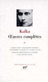Oeuvres complètes t.4 - Couverture - Format classique