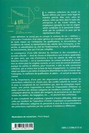 Les Relations Collectives Du Travail - 4ème de couverture - Format classique