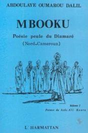 Mbooku ; poésie peule du Diamaré (Nord-Cameroun) - Couverture - Format classique
