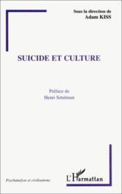 Suicide et culture - Couverture - Format classique
