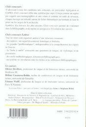 Latin 2006 - 4ème de couverture - Format classique