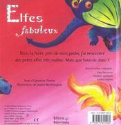 Elfes fabuleux - 4ème de couverture - Format classique