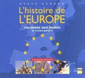 L'Histoire De L'Europe Racontee Aux Jeunes - Intérieur - Format classique