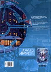 S.P.E.E.D. angel's t.1 ; jour J - 4ème de couverture - Format classique