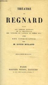 Theatre De Regnard - Couverture - Format classique