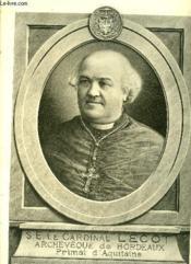 S.E. Le Cardinal Lecot - Medaillons Bordelais - Livraison N° 21 - Couverture - Format classique