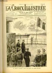 LA CROIX ILLUSTREE N° 33 - Deuxième année - Le salut au drapeau à bord d'un navire de guerre français. - Couverture - Format classique