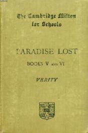 Paradise Lost, Books V And Vi - Couverture - Format classique