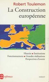 La Construction Europeenne - Intérieur - Format classique