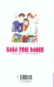 Hana yori dango t.7 - 4ème de couverture - Format classique