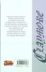 Claymore T.5 ; histoire de guerrières - 4ème de couverture - Format classique