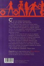 Paquebot - 4ème de couverture - Format classique