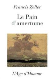 Pain D'Amertume - Couverture - Format classique