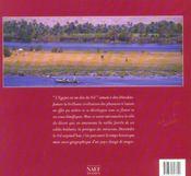 L'Egypte, voyage au fil du Nil - 4ème de couverture - Format classique
