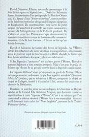 Legende D'Hiram (La) - 4ème de couverture - Format classique