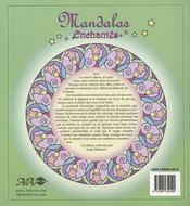 Mandalas enchantés - 4ème de couverture - Format classique
