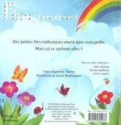 Les fées farçeuses - 4ème de couverture - Format classique