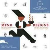 Menu designs - Couverture - Format classique